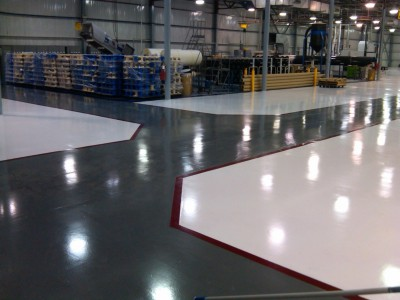 Application of epoxy floors