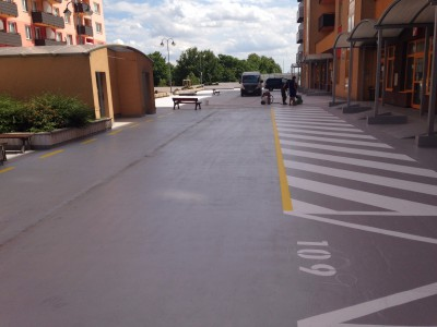 Waterproofing of parking Bratislava
